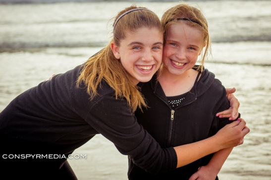 Sydney and Emma - Mission Beach, San Diego